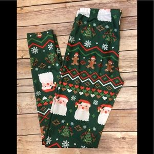 Freeze size Small Christmas leggings